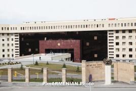 Armenia denies Azeri claims of striking Barda
