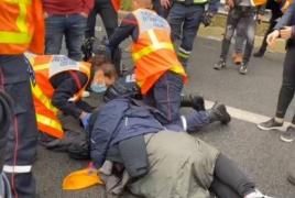 Dozen Armenians injured after Turks attack them in France
