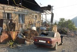 Civilians injured after Azerbaijan targets Stepanakert again