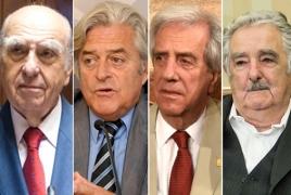Экс-президенты Уругвая заявили о солидарности с Арменией и призвали к прекращению огня в Карабахе