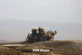 Армянская сторона уничтожила большое количество боеприпасов и живой силы Азербайджана