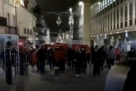 Во французском Дижоне турецкие «Серые волки» вышли на улицы с призывами к насилию против армян