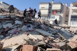 Powerful earthquake jolts Turkey and Greece, killing at least six