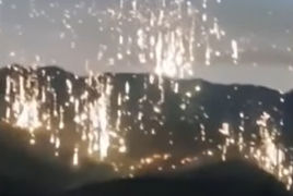Azerbaijan may have used phosphorus munitions to set Karabakh forests on fire