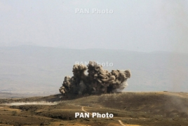 Karabakh downs Azerbaijani combat drone in Stepanakert