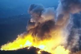 Карты NASA показывают очаги возгораний в Карабахе за сутки (фото)