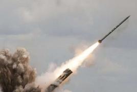 Азербайджан из «Смерчей» и «Градов» стреляет по Мартуни и Мартакерту