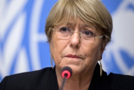 UN rights commissioner alarmed over