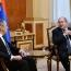 Лавров на встрече с Саркисяном выразил надежду на рост торговых связей Армении и РФ