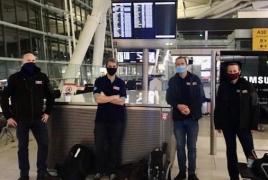 Британия отправила в Армению 7 медиков для помощи в борьбе с Covid-19