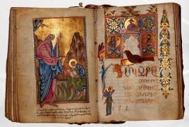 Sotheby's: 17th c. Armenian Gospel manuscript going under the hammer