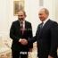 Пашинян сообщил о двух телефонных разговорах с Путиным за час