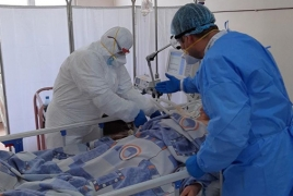 Covid-19: Armenia infections grew by 1476 in the past day