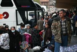 В Карабах вернулись более 25,000 беженцев