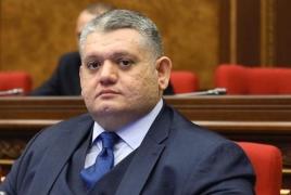 Gor Gevorgyan exits Armenia's ruling Mt Step bloc