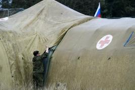 ՌԴ ՊՆ բուժջոկատն առաջին պացիենտներին է ընդունել ԼՂ-ից