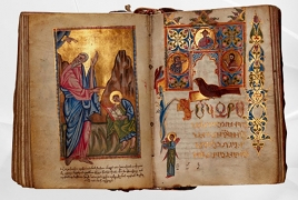 Sotheby's auctions off 17th century Armenian Gospel for £69,300