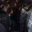 Ցուցարարները փակում են Երևանի մեծ փողոցները. Բերման ենթարկվածներ կան