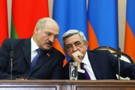 «Даю Алиеву 6 миллиардов за 7 районов»: Слитый спор Саргсяна и Лукашенко о Карабахе