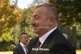 Алиев защитил Пашиняна и обвинил прежние власти Армении