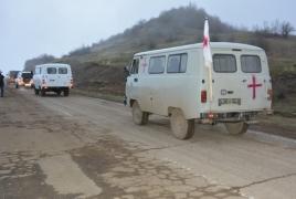 One body returned to Armenia alongside four POWs
