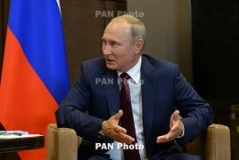 Պուտինը շնորհավորել է Փաշինյանին,  Քոչարյանին ու Սարգսյանին