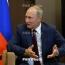 Путин поздравил Пашиняна, Саргсяна и Кочаряна с Новым годом и Рождеством