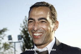 Youri Djorkaeff will spending Christmas with Karabakh children