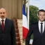 Pashinyan, Macron discuss Armenia-France ties, Karabakh war aftermath