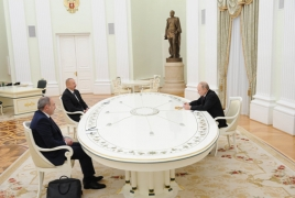 Meeting of Pashinyan, Putin, Aliyev ends after almost four hours