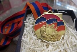 Իրանցի մարզիկն իր ոսկե մեդալը նվիրել է Արցախում զոհված մարզիկ Սուքիասյանի ընտանիքին
