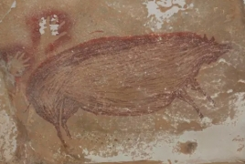 World's oldest known cave painting discovered in Indonesia