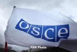Karabakh settlement among Swedish OSCE Chairpersonship's priorities