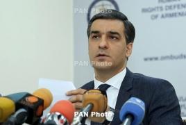 Омбудсмен Армении о деблокаде: Нужно дать гарантии соблюдения прав граждан РА