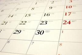 Նախագիծ․ Ոչ աշխատանքային կլինեն միայն հունվարի 1-ը, 2-ը և 6-ը