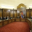 Pashinyan, Harutyunyan preside over Security Council meeting