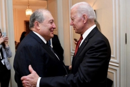 Sarkissian: Friendly U.S.-Armenia ties could help bring peace in the region