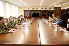 ԳՇ պետն ու ԱՄՆ դեսպանը քննարկել են երկկողմ գործակցության հարցեր