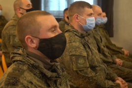 Karabakh: Russian troops readying for work in Russian-Turkish center
