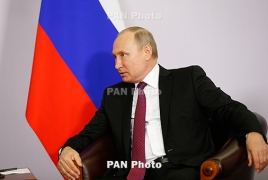 Putin: Karabakh trilateral statement consistently being implemented
