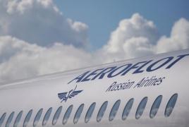 Aeroflot-ը չեղարկել է դեպի Երևան չվերթերը մարտի 28-ից՝ ապրիլի 30-ը