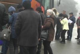 Число возвращающихся из Армении в Карабах снижается