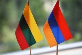 Посольство: Литва гордится тем, что первой в мире признала независимость Армении