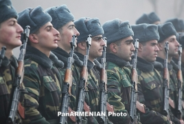 Defense Minister: Armenia optimizing size, structure of army
