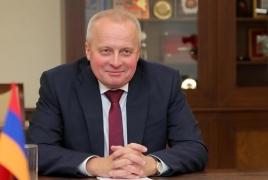 Envoy: Russia supporting modernization of Armenian army