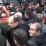 Ոստիկանների հետ ընդհարումից հետո ցուցարարները մտել են ՀՊՏՀ