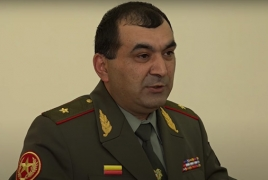 Top military official sacked after dismissing Pashinyan's