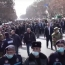 Pashinyan takes to the streets, calls for restraint