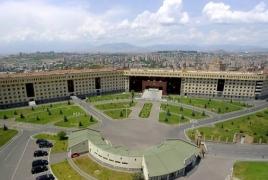 ՊՆ. Երևանում ռազմական ինքնաթիռներն ուսումնական-պլանային թռիչքներ են անում