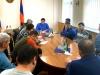 Karabakh President meets displaced civilians in Yerevan